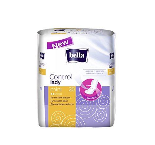 Bella Control Einlagen Mini, 4er Pack (4 x 20 Stück)