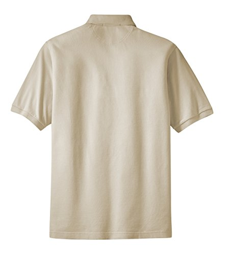 Port Authority Pique Sport Shirt W Tasche (k420p) Beige - Stone