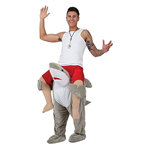 Carry Me Shark - Adult Costume Adult - One Size