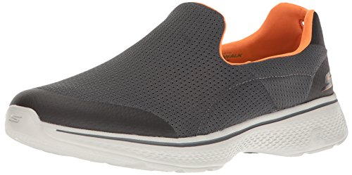 Skechers Men Go Walk 4 Low-Top Sneakers, Grey (Ccor), 8.5 UK 43...