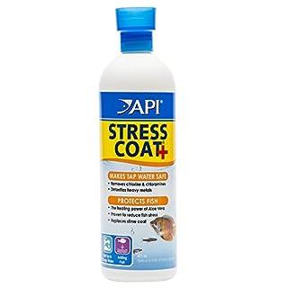 API Stress Coat Aquarium Water Conditioner, 473 ml Bottle