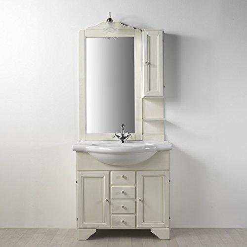 Mobile arredo bagno decape' lavanda 85