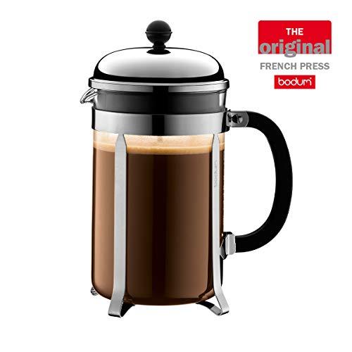 Bodum Chambord Kaffeebereiter, 1,5 l / 51 oz - Glänzendes