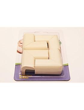 Angebébé–esquinas de mesa x4–Lot 4–Protectores de esquinas de muebles para bebé