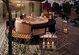 Marinoir Whirlpoolumrandung mocca für Softub 300 Resort & 220 Legend, Softub Resort 300 mocca Rattanumrandung - 2