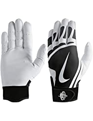 detailed pictures 33283 55b75 Nike Huarache Edge Gants de Frappe pour Homme Blanc Noir Taille XL