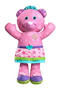 Doodle Bear - Magic Glow - Peluche 35 cm à Décorer Fluorescente