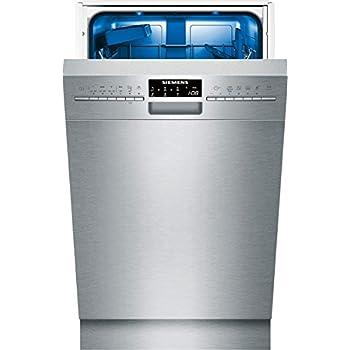 Siemens SR46T557EU iQ500 Unterbaugeschirrspüler/A++/197 kWh/Jahr/9 MGD/2380 L/Jahr/AquaStop/DosageAssist