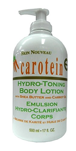 Skin Nouveau Carotein Hydro Toning Body Lotion Shea Butter & Carrot Oil 500ml - La Body Toning Lotion