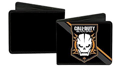 Call Of Duty: Black Ops III Video Game Skull Logo Bi-Fold Wallet