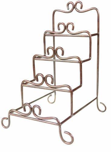 Manual Metal Tiered Plate Racks, Mini, Set of 2 by Manual Woodworker Metal Plate Rack