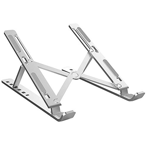 BECROWM EU Vertikaler Laptop-Ständer, faltbar, tragbar, belüftet, platzsparend, universell verstellbar, ergonomisch