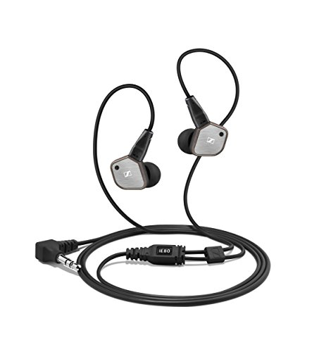 Sennheiser IE 80   Auriculares in ear, plata
