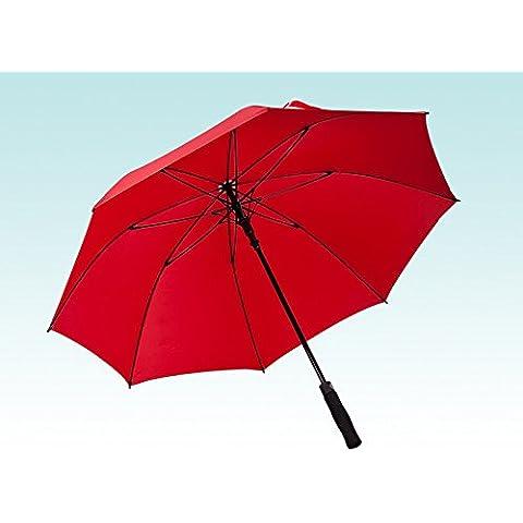 Palanca larga de tallo recto sombrilla de golf paraguas protector solar.
