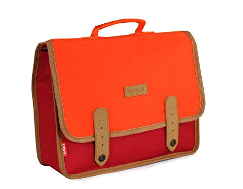 Kickers Cartable 7 L, Rouge/Orange