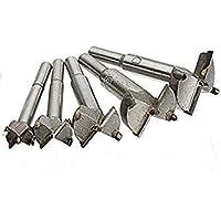 Bloomgreen Co. Bloomgreen Co 5 x 15-35mm Taladro de la carpintería profesional bits puestos