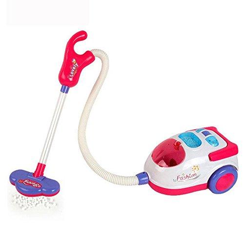 Cido Spielzeug Staubsauger Pretend Play Housekeeping Aufräumen Spielzeug Staubsauger Mit richtiger Saugung Für Kinder ab