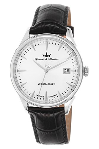 Yonger & Bresson Men's Watch Amboise Analogue Automatic YBH 8362 Black – 10