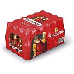 Cruzcampo Cerveza - Paquete de 24 x 250 ml - Total: 6000 ml