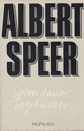 Albert Speer: Spandauer Tagebücher