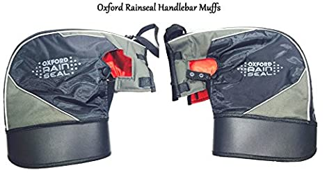 MOTORBIKE OXFORD RAIN SEAL HANDLEBAR MUFFS Motorcycle Thermal Waterproof Bar Muffs