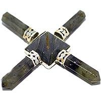 Humunize 4 Punkte Labrorite Reiki-Energie-Generator Pyramide Stein Spirituell Kristalltherapie Feng Shui Geschenk... preisvergleich bei billige-tabletten.eu