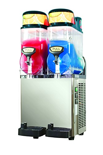 41NhBr4uNNL - Blue Ice Machines ST12x2 Slush Machine with 2 x 12 Litre Barrels