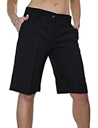 e2014a669 ICE (1492) Ladies Smart Washable Day Evening Tailored Shorts