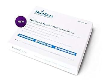 remzzzs Full Face CPAP-/bipap-Maske Einlagen für Resmed