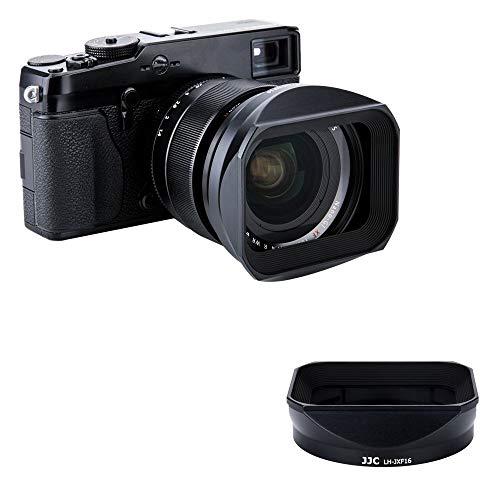 JJC LH-JXF16 Black Gegenlichtblende für Fujifilm Fujinon XF 16 mm f1.4 R WR Objektiv/Kit mit Slide...