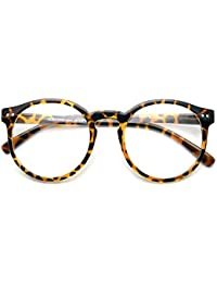 1920s Vintage Oliver rétro lunettes rondes 8241 Leopard cadres Classic Eyewear MADE IN KOREA