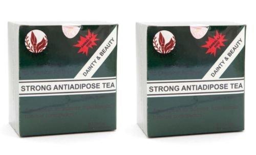 Starken anti-adipösen Tee (STRONG ANTI - ADIPOSE TEE) ; Entgiftende Abführmittel, Fast Weight Loss - 60 Taschen -