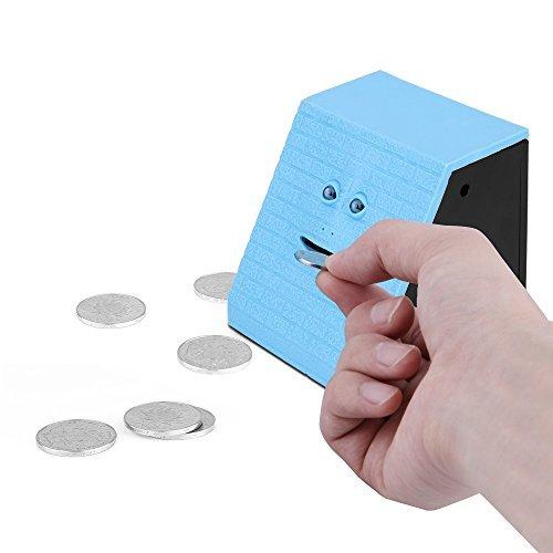 ONEVER Face Money Bank Ladrillo de diseño automático Munching monedas Money Saving Box