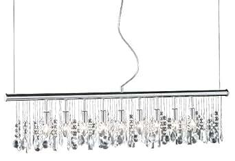 action pendelleuchte 9 flammig l nge 120 cm chrom 725809010000 beleuchtung. Black Bedroom Furniture Sets. Home Design Ideas