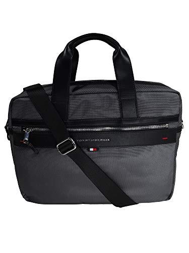 Tommy Hilfiger Herren Laptoptasche Elevated Computer Bag Grau AM0AM02962-072