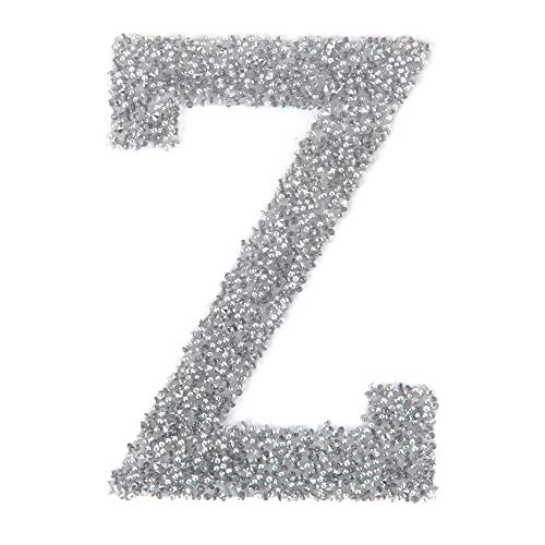 Kal Crystal (Swarovski Crystal Letter 'Z' Selbstklebende Stoff-It Transparente Kal 1 Stück)