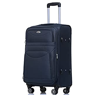 BEIBYE-8009-TSA-Schlo-Handgepck-Stoffkoffer-Trolley-Koffer-M-L-XL-Set