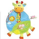 gfjfghfjfh Babyspielzeug Baby Tröster Taschentuch Beruhigendes Handtuch Baby-Sicherheitsdecken mit Beißring für Baby-Entwicklungsspielzeug