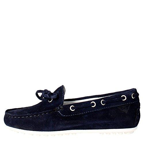 Docksteps DSJ101361 Mocassino Bambino Camoscio Blu Blu 34