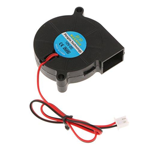 MagiDeal Ventilador de Refrigeración de Impresora 3D DC 12v para Disipadores de...