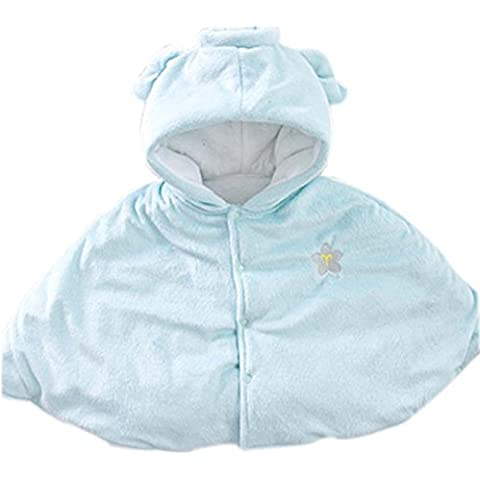 bebé Cloak Mantón Baby Blankets doce constelaciones bebé Cloak azul Acuario