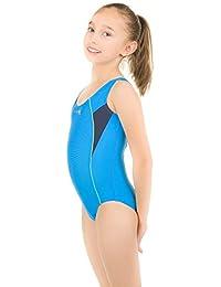 a3bbcb585491 Aqua Speed Kate Badeanzug Einteiler (116-152 Mädchen Teenager Schwimmanzug  Blickdicht Elastisch Fusselfrei UV