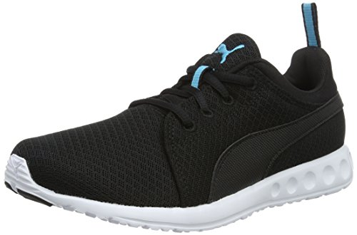 puma-carson-mesh-wns-womens-competition-running-shoes-black-puma-black-blue-atoll-07-55-uk-385-eu
