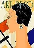 Fabulous Poster Affiche Art Deco Affiche d'Epoque Annees 20 Mode Vintage