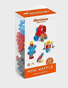 Marioinex 902806 Mini Waffle, Juego de 70 Piezas Constructor Boy