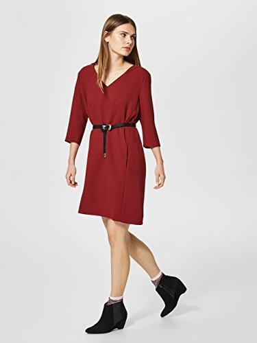 SELECTED FEMME Damen Kleid Rot (Syrah Syrah)