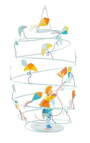 L \'Oiseau Bateau Spirale Mobile Mädchen den Lampions
