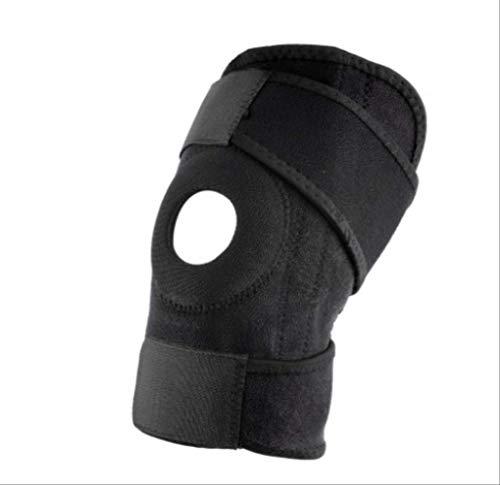 PC Kniepolster Einstellbare Sport Bein Knie Unterstützung Klammer Wrap Knieschützer Pads Sleeve Cap Sicherheit Knieorthese für Basketball Hot -