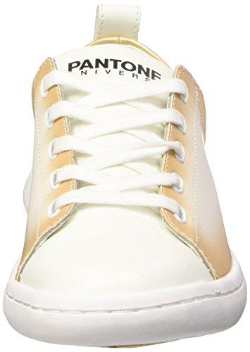 Pantone Australian Open, Low-Top Chaussures mixte adulte Beige (Champagne Beige 14-1012 Tpx_6)