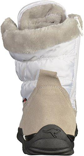KangaROOS Cupy, Bottes de Neige Mixte Enfant Blanc (White 000)